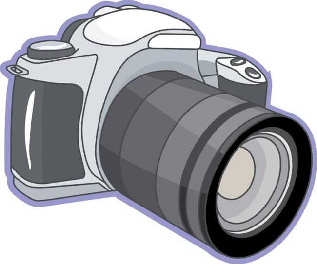 free clipart slr camera - photo #1