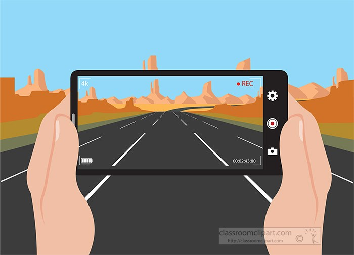 recording-with-camera-on-road-nature-scene-clipart-22.jpg