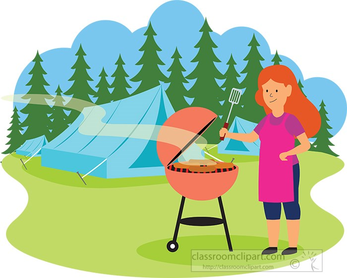 lady-enjoying-barbeque-outdoors-while-camping-clipart.jpg