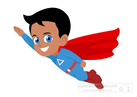 cartoons clipart superboy flying up clipart 1220 classroom clipart