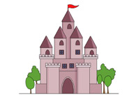 free castles clipart clip art pictures graphics illustrations rh classroomclipart com clip art castles on an island clipart castles