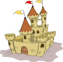 free castles clipart clip art pictures graphics illustrations rh classroomclipart com free disney castle clipart free disney castle clipart