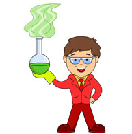 Boy With Chemical Graduated Cylinder Size 80 Kb From Chemistry