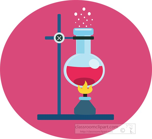 chemical-glassware-attached-to-holder-under-flame-clipart.jpg