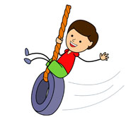 Swinging Clipart