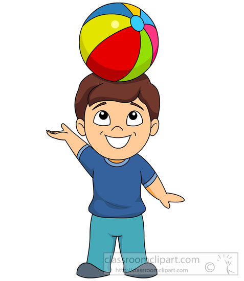 children clipart child balancing ball on head clipart 5983 rh classroomclipart com clip art children with flowers clip art children holding hands