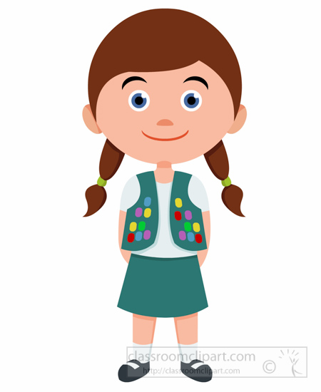 children clipart girl scout leader in uniform clipart I Volunteer Clip Art Boy Scout Camping Clip Art