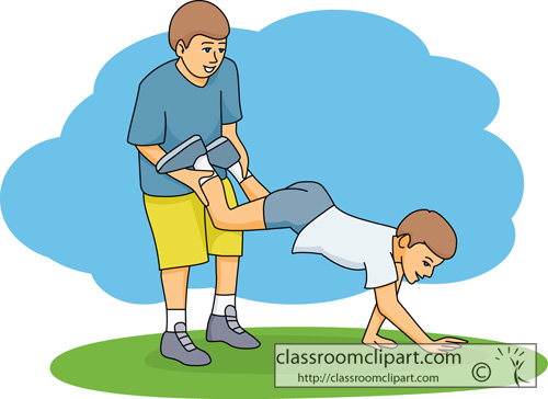 Children : wheelbarrow_race_game_34 : Classroom Clipart