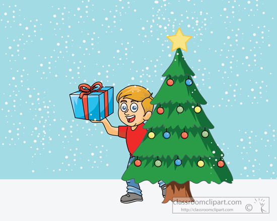 boy_holding_gift_near_christmas_tree-clipart.jpg