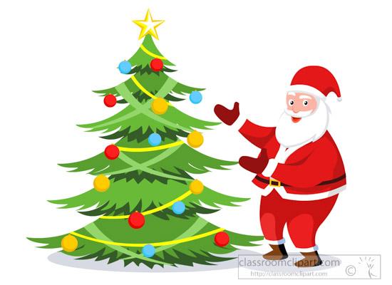 happy-santa-showing-decorated-xmas-tree-marry-christmas-clipart.jpg