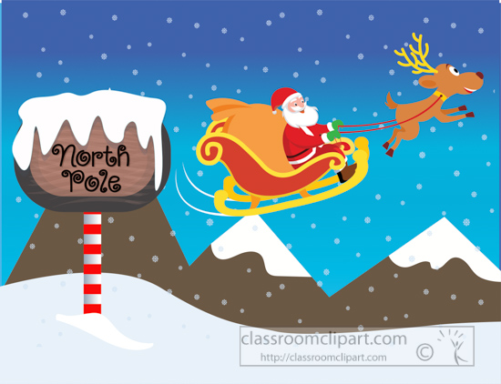 north-pole-sign-in-the-snow-with-santa-and-reindeer-on-sleigh-clipart.jpg