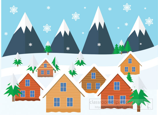 snowfall_mountains_house_christmas-trees_winter-scene_clipart.jpg
