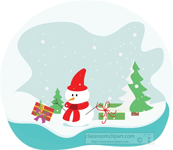 snowman-with-christmas-trees-and-gifts-clipart.jpg