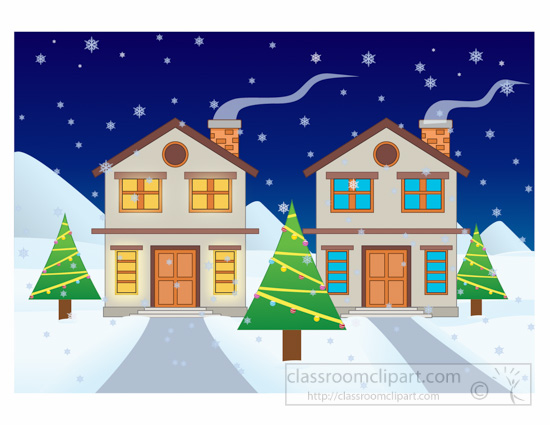 house winter clipart - photo #45