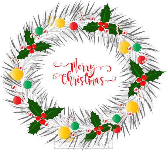 white-wreath-decoated-merry-christmas-clipart.jpg