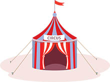 free circus clipart clip art pictures graphics illustrations rh classroomclipart com circus clipart black and white circus clipart coloring