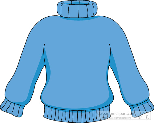 Sweater Outline Clip Art