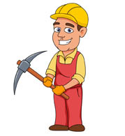 free construction clipart clip art pictures graphics illustrations rh classroomclipart com female construction worker clipart construction worker clipart images