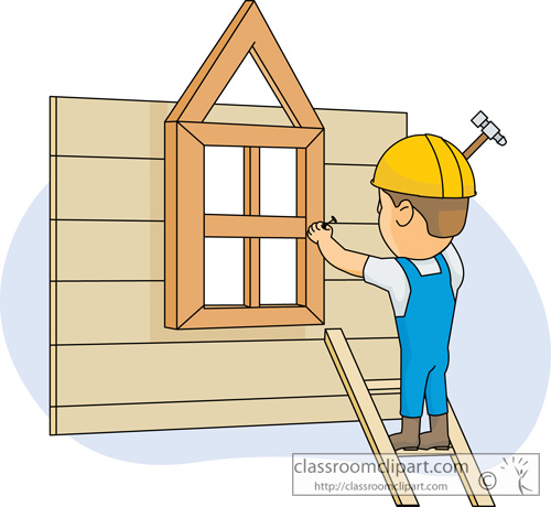 Construction : construction_building_house : Classroom Clipart