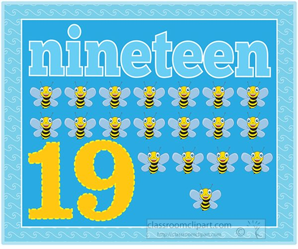 counting-numbers-nineteen-bees.jpg