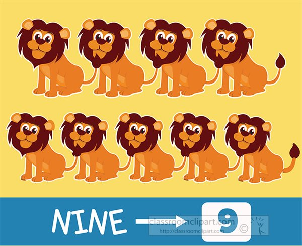 preschool-number-nine-counting-with-lion.jpg