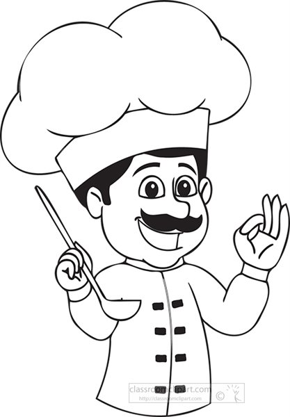 a-chef-cooking-and-tasting-food-with-happy-face-black-white-clipart.jpg