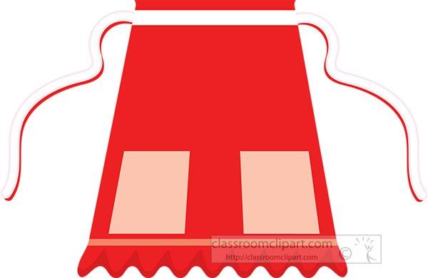 half-apron-orange-clipart-7123.jpg