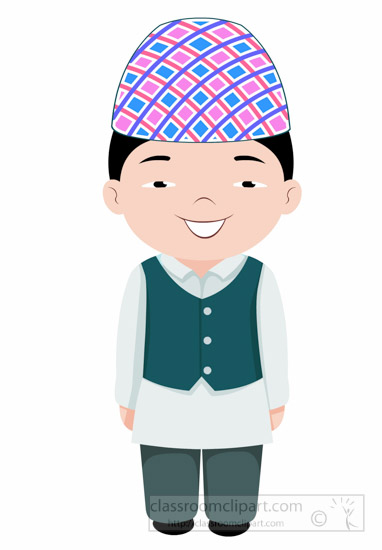 man-in-nepalee-costume-nepal-asia-clipart-illustration-6818.jpg