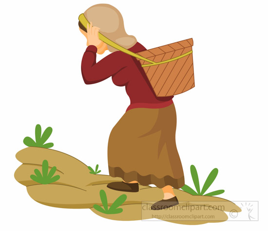 nepalee-woman-carries-a-basket-on-her-head-nepal-asia-clipart-illustration-6818.jpg