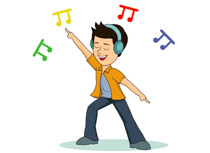 Enjoy the Music Clip Art