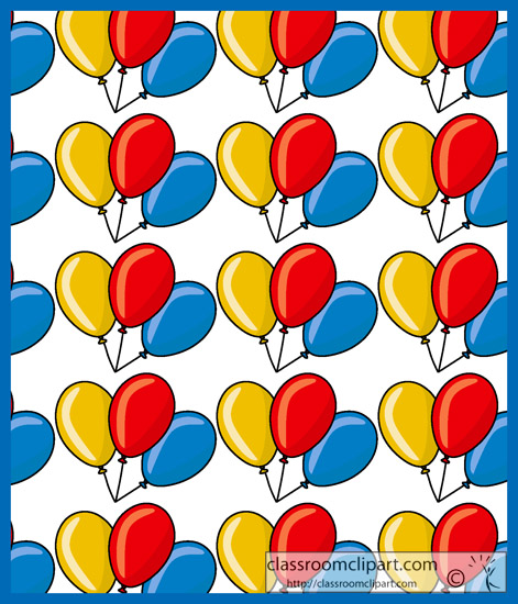 Classroom Design Patterns ~ Designs and patterns balloon square pattern classroom