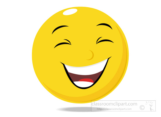emotions clipart smiley face character laughing expression clipart rh classroomclipart com clipart laughing face clipart laughing hard
