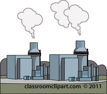 Environment Clipart- factiory-pollution-business-0509 ...