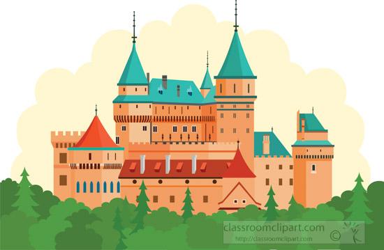 bojnice-castle-slovakia-clipart.jpg