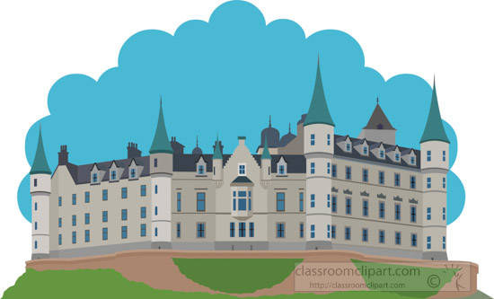 dunrobin-castle-scotland-clipart.jpg