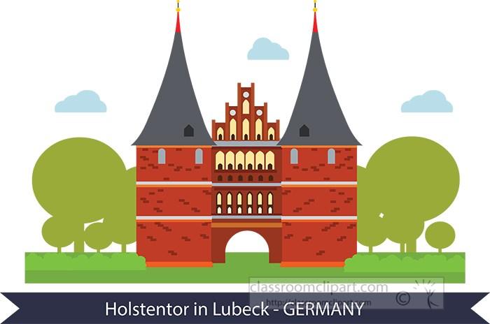 holstentor-in-lubeck-museum-germany-clipart.jpg