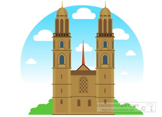landmark-grossmunster-church-zurich-switzerland-clipart.jpg