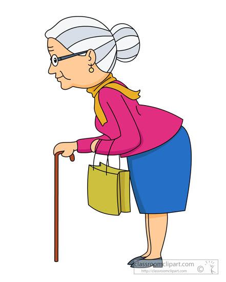 family elderlywomanwearingglassesusingcane325