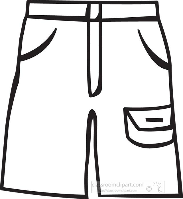 summer-shorts-black-outline-clipart.jpg