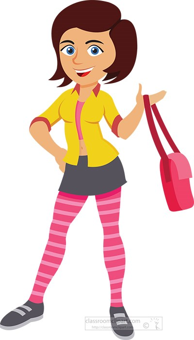 teenage-girl-in-casual-dress-holding-her-bag-purse-clipart.jpg