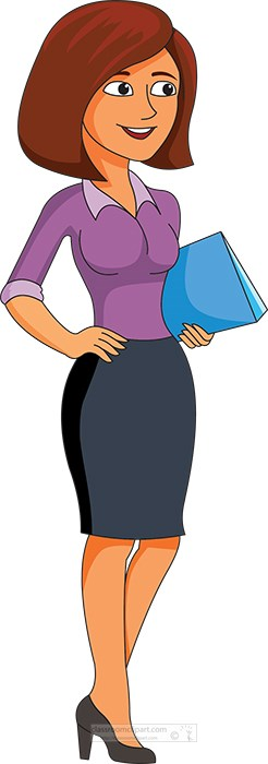 woman-in-office-standing-holding-file-clipart.jpg