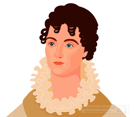 hannah-van-buren-first-lady-of-the-united-states-clipart.jpg