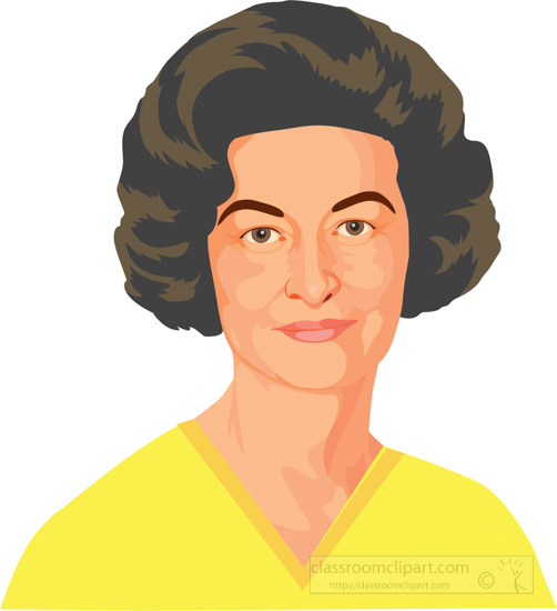 lady-bird-johnson-first-lady-of-the-united-states--clipart.jpg