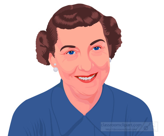 mamie-doud-eisenhower-first-lady-of-the-united-states-clipart.jpg