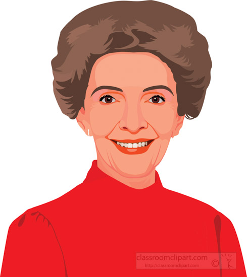 nancy-reagan-first-lady-of-the-united-states-clipart-2.jpg