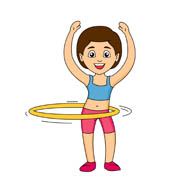 search results for hula hoop clip art pictures graphics rh classroomclipart com hula hoop clipart hula hoop reifen clipart