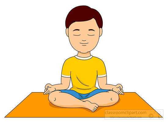 Fitness and Exercise : boy-doing-yoga-on-a-mat : Classroom ...