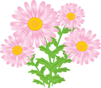 cute flower clip art
