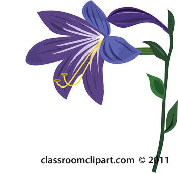 Flowers : purple-flower-24 : Classroom Clipart
