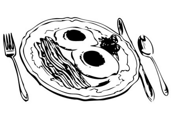 Breakfast Clipart Clipart Photo Image - food_clipart_075 ...